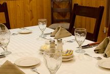 Dining / The gourmet meals at Falcon's Ledge are delicious