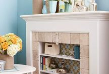 DIY Fireplace & Mantle Decor Ideas
