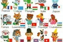 alphabet des pays