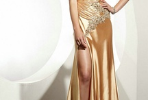 One Shoulder Evening Dresses / by Luck Bridal