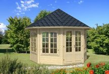 Great Garden Cabins / A range of garden buildings, from the smallest pavillion to the largest granny annexe