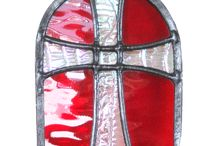Holy Communion & Confirmation Gifts / Gifts and keepsakes for remembering two landmark occasions in an individual's 'Journey of Faith'. These and many more available from Radiance Stained Glass.