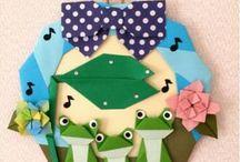 折り紙リース