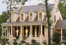 Exteriors / house plans/ houses