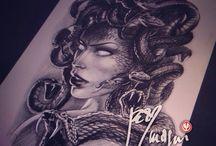 Projet tatouage Kriss