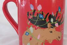 Hatley Mugs / I love the funny often nature-inspired coffee mugs from Hatley. They're great gift ideas for animal lovers, coffee drinkers, horseback riders, vacationers, sleepy heads, moms, dads, bikers, hikers...whether you are Bearly Awake, Pawsitively Exhausted or need to lighten up, you'll love nature's critters as they are depicted on these mugs.