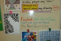 Grade 4 Focus Board