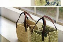 bolsos trapillo y crochet