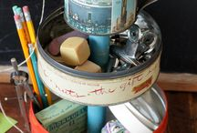 rustic treasures / reusing junk in inventive ways / by rita lee