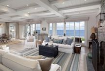 Hamptons style / Colour and texture ideas