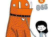 Illustration : : Monsters / Monsters and creatures, mostly by Elise Gravel, illustrator, but also from other artists.