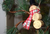 Christmas Crafts and corks