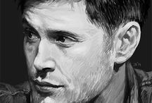 Supernatural Fan Art ♥ / Some are cute, some are awesome. I love them all! ♥