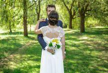 Mariage | Champêtre jaune & gris / Mon vrai mariage, fait maison !
