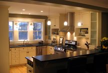 Cabinet Connection Kitchens / Here are some of the kitchens we've done over the years, as well as some handy closeups of various details.  Hope you find some inspiration!