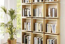 boekenkast kamer