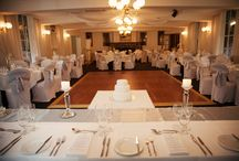 Wedding Reception Room / The beautiful wedding reception room at Marybrooke Manor