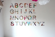 Alphabet Wall / by The Spearmint Blogs