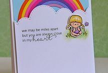 Rainbows / Cards with rainbows