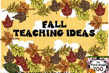 Fall Teaching Ideas / Fall themed ideas and resources for elementary classrooms.