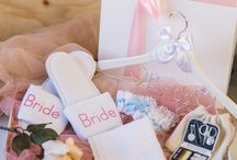 Bridal Gift Hampers / The Perfect Gift Hampers for Brides, Bridesmaids and Flower Girls www.houseofsilk.co.za