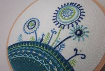 Lovely stitches / Embroidery, stitched pieces and quilts
