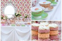 Tea time wedding / Romantic wedding theme Tea Time