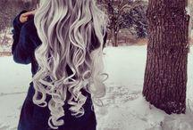 Silver hair / Beautiful silver
