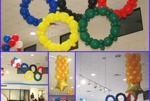 Olympic Decorations!   / Olympic themed decorations  for your next corporate event or party!