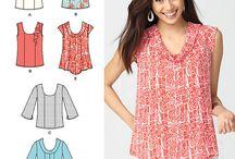 Costura - blusas y tops / by Rosy Porras Fernandez