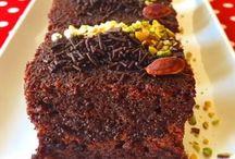 çikolatalı kakaolu kek