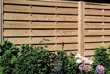Des panneaux de clôture 1