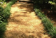 Mulching Ideas / Pictures of Beautiful Garden Beds, Pathways, Playgrounds and more...