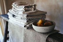 Linen / Lovely textured linens