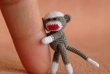 Sock Monkey / My great-nephew is due in early April. His nursery theme is Sock Monkey with colors of khaki, burgundy, and navy.  Please pin any cute Sock Monkey things you find.