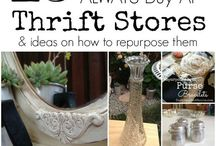 Thrifty / Fun things to look for at Thrift Shops