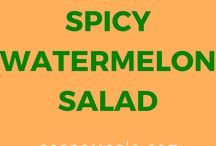 VANNMELON  - salat