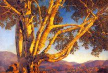 Max Parrish Painting