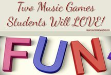 Music Games / Musical games for lessons, groups, workshops and camps