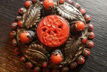 antique broochs