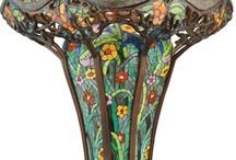 Lighting~ table lamps and floor lamps / Tiffany, Gallé, Art Deco, Art Nouveau / by P. R. T.