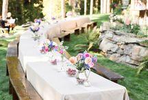 Hochzeit im Garten / Wedding