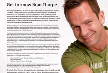 #StriationSpotlight: Brad Thorpe / Our Co-Founder, Brad Thorpe, is a true fitness revolutionary. As the creator of ISOPHIT™ and the Isometric Training System™, and with over 20 years of experience in the fitness industry, Brad is recognized as the 21st Exercise Specialist globally to have the combined Mastery Level Resistance Training Specialist and Muscle Activation Techniques Certified Specialist designations. Get to know more about Brad and why he is one of the best in the biz. #GetStriated #Toronto