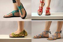 minimal sandals diy