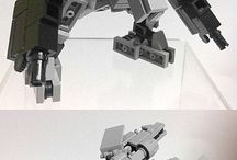lego custom Transforming mechs
