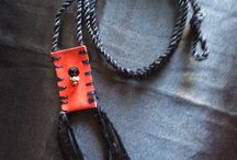 Pouch Necklace / Medicine pouch, prayer pouch and/or necklace pouch look no further