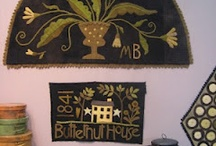 Country-naive-crazy stitches.... emb.&Rugs