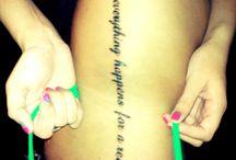Tattoos / by Bethany Richardson