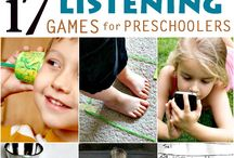 Listening Activities / Ideas and activities for developing students listening skills in early literacy