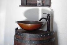 Wine barrell